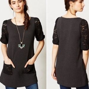 Anthropologie, Postmark Jacquard Knit Tunic NWT